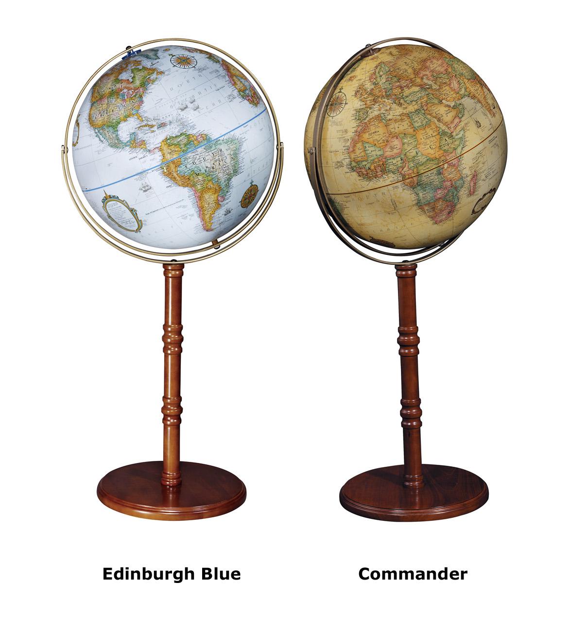 karttapallo edinburgh commander