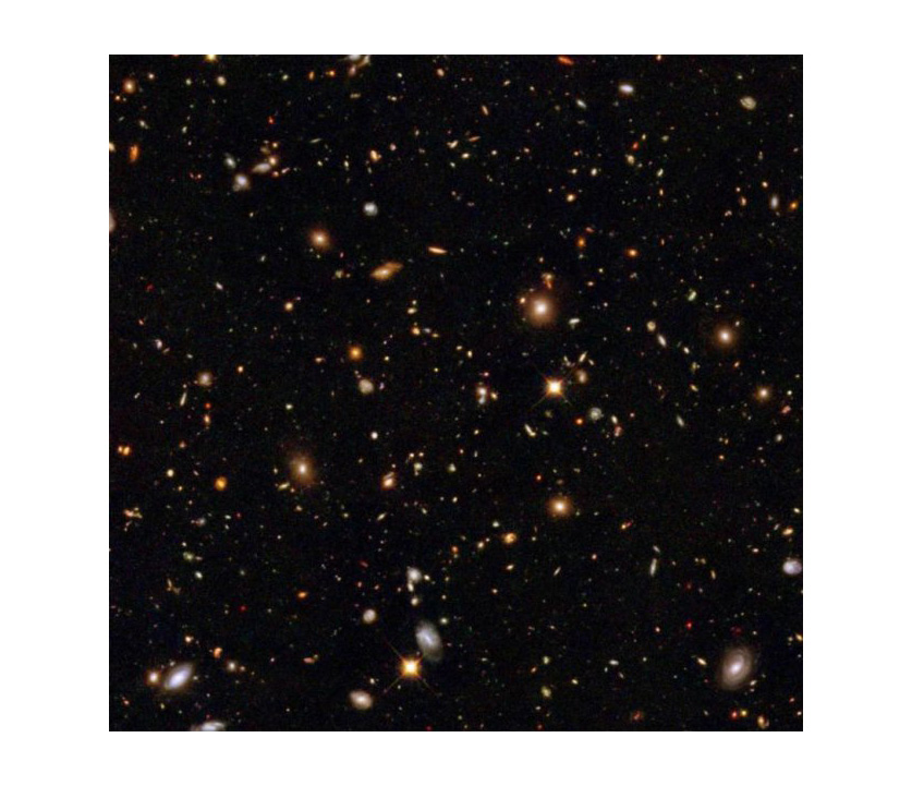 hubble looks at nothing - photo #42