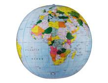 puhallettava karttapallo