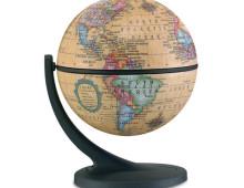 karttapallo antiikki pieni