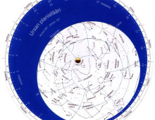 planisfääri tähtikartta