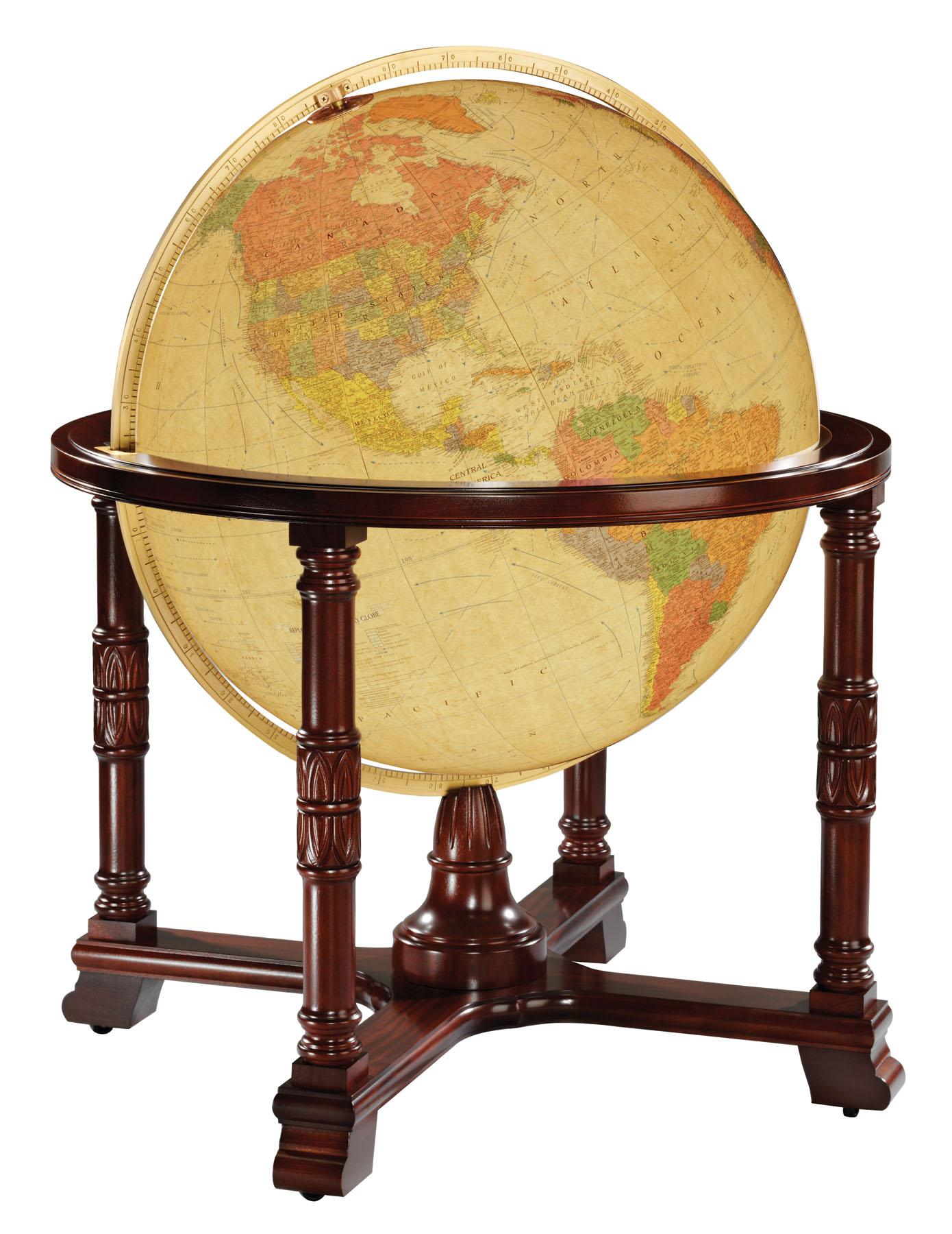 Karttapallo Diplomat antiikki