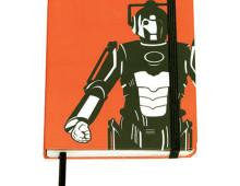 Doctor Who muistikirja Cyberman