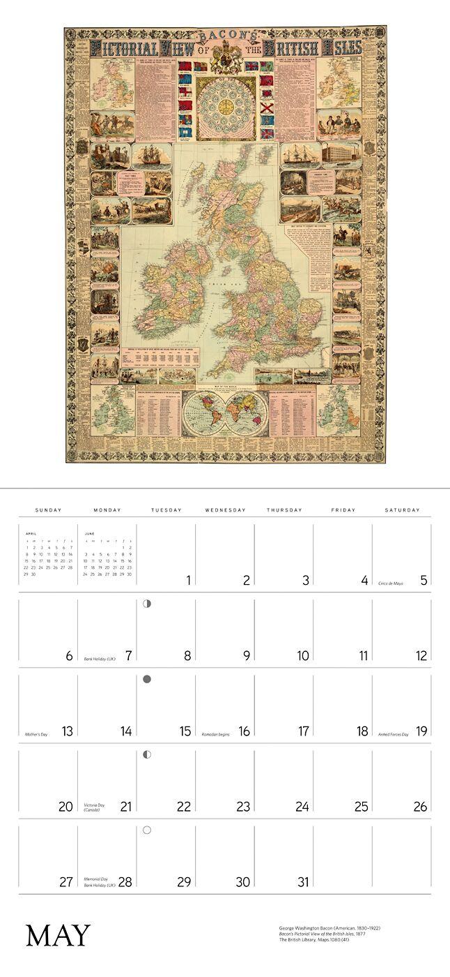 Kalenteri 2018 kartat