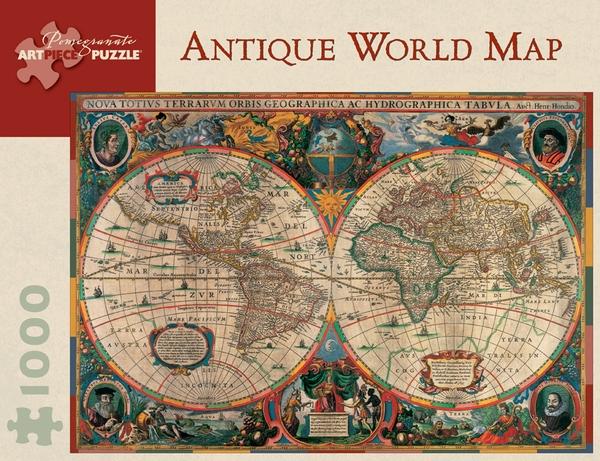 palapeli maailmankartta
