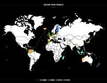 Väritettävä kartta