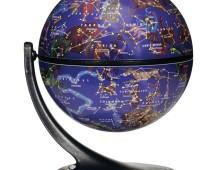 karttapallo tähtikarttapallo