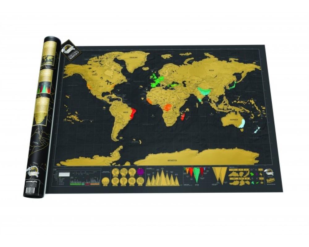 Scratch map deluxe suuri