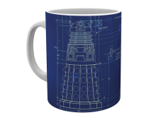 Dr Who muki Dalek blueprint
