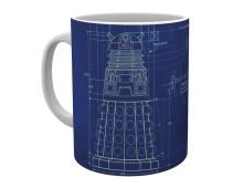 Dr Who muki Dalek blueprint