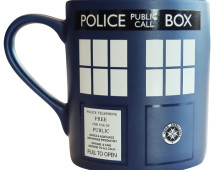 Doctor Who muki Tardis
