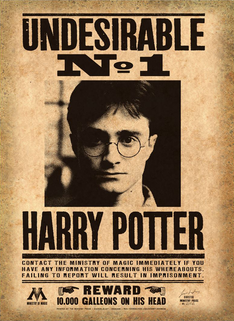 Harry Potter Undesirable