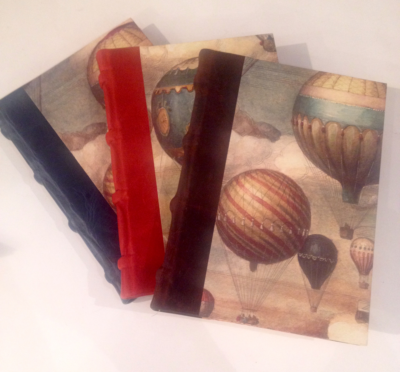Muistikirja kuumailmapallo