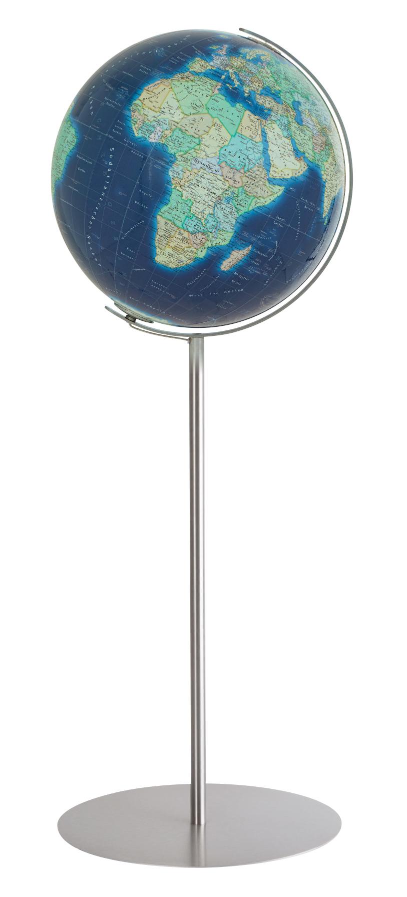 sininen karttapallo