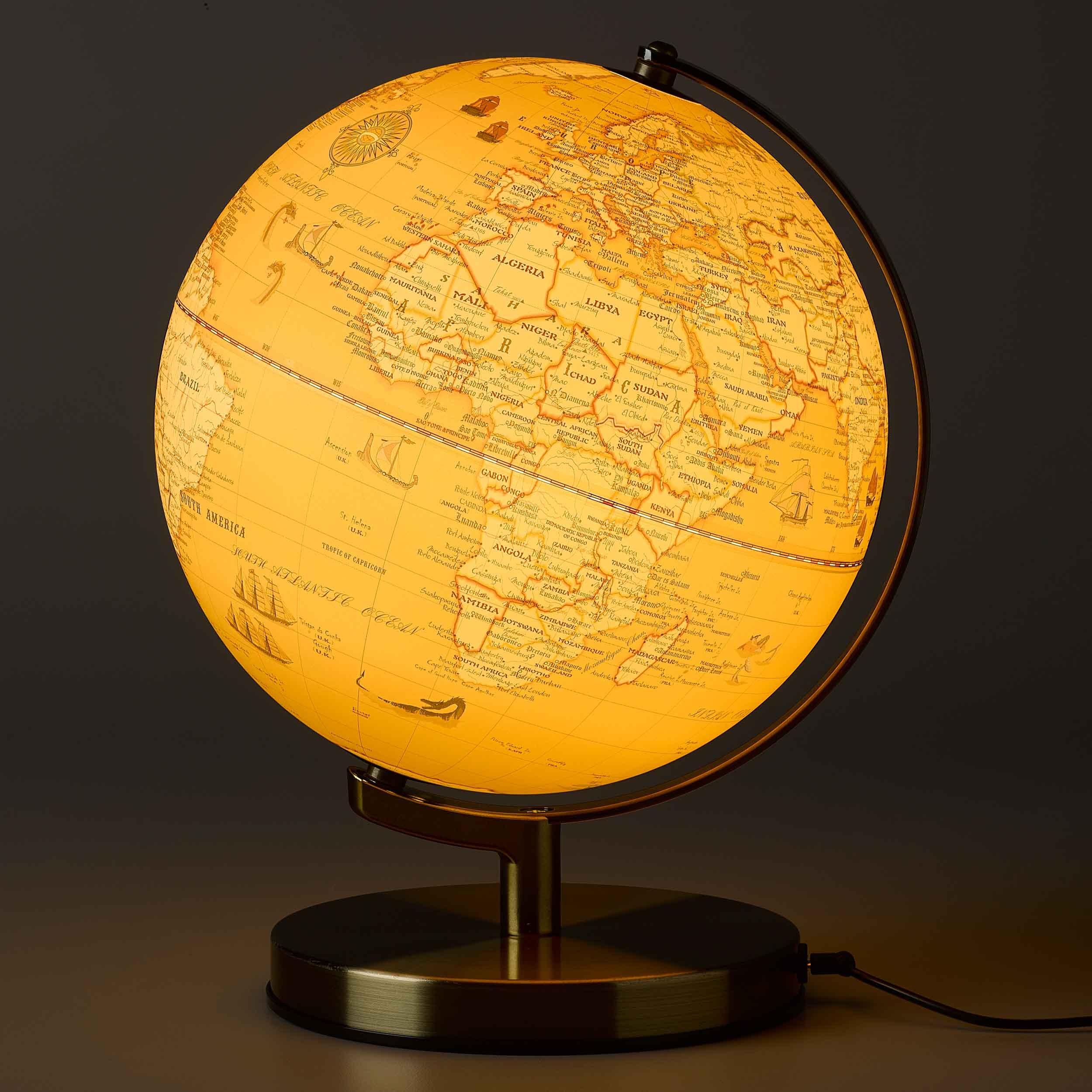 Karttapallo Sahara valo
