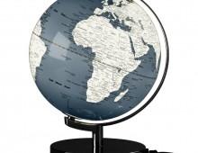 Harmaa karttapallo