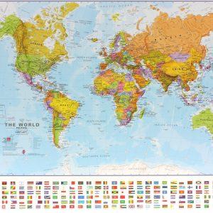 Alnilam Oy Scratch Map De Luxe Suuri