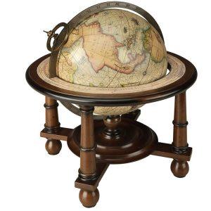 Antiikkikarttapallo